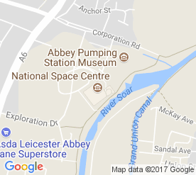 Map Of Uk Leicester.The National Space Centre An Out Of This World Experience For The