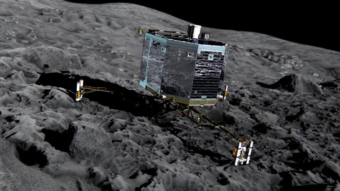 A Halloween Message from Philae