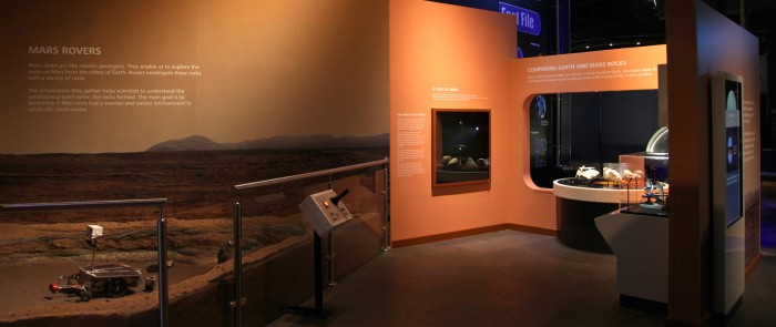 New Mars Gallery Open to Visitors