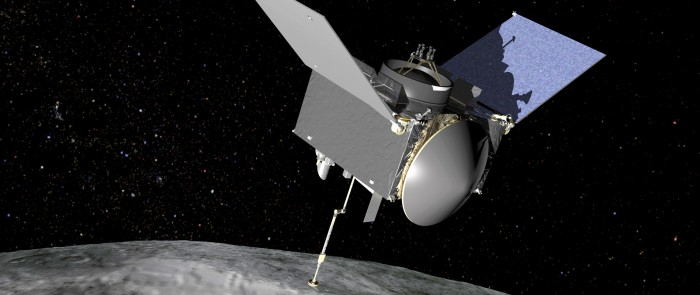 NASA Launches Asteroid Collection Mission