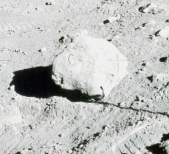 The rock prop labelled with a 'C'