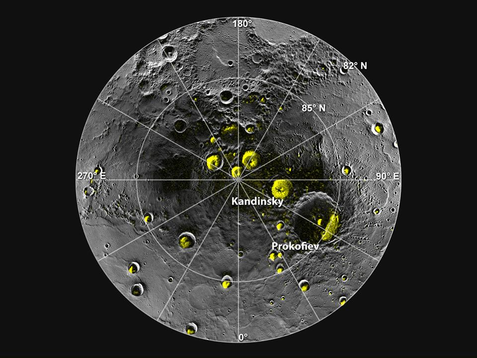 Is there water on Mercury?