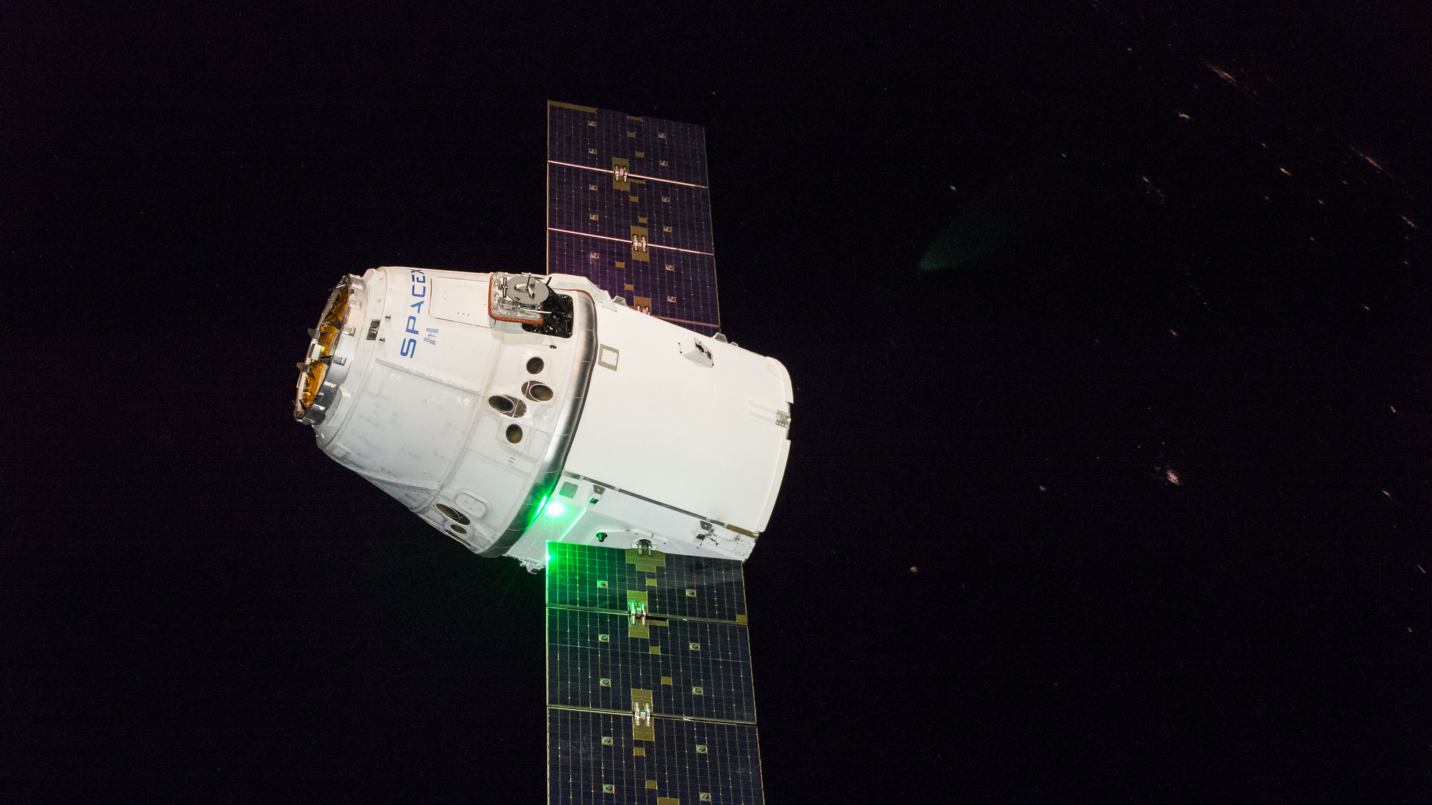 The SpaceX Dragon