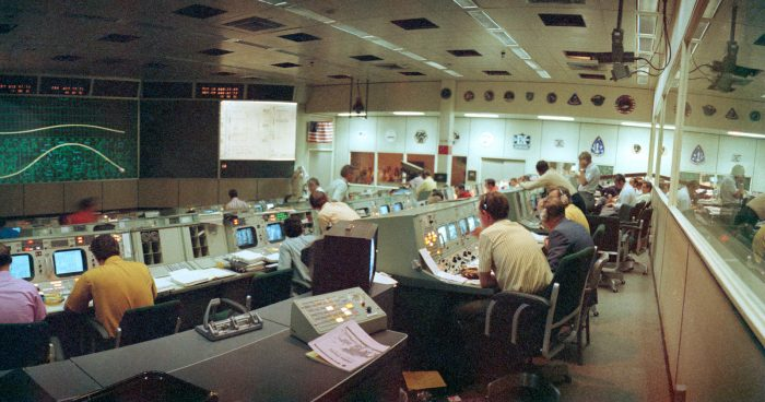 Mission Control and the Moon Landings