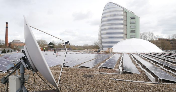 Solar Panels and Space
