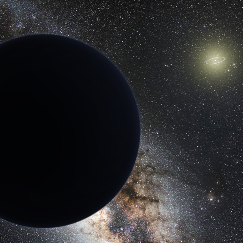 Mysterious Planet 9