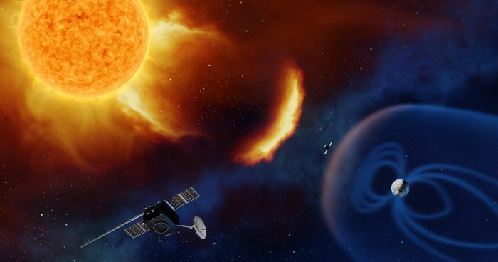 """The Science Behind Space Weather and Sky's """"Cobra"""" Show"""