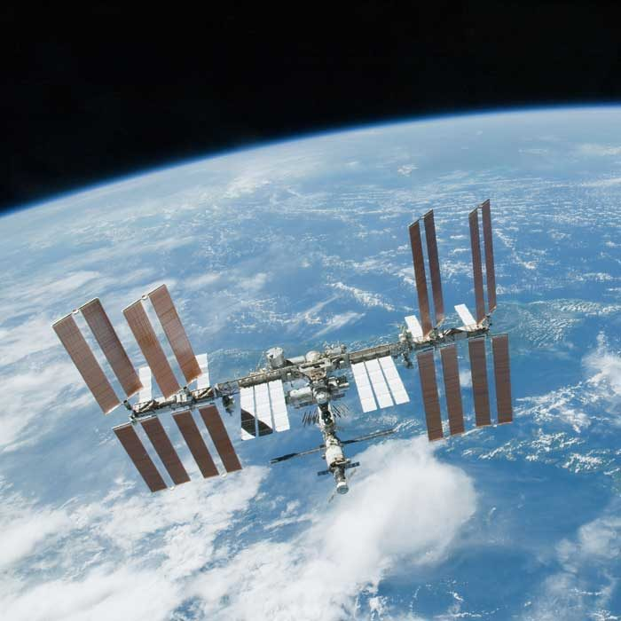 Photographing the ISS