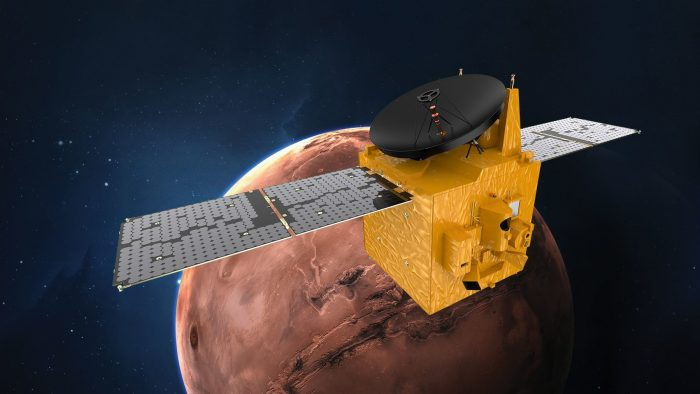 Historic Launch to the Red Planet