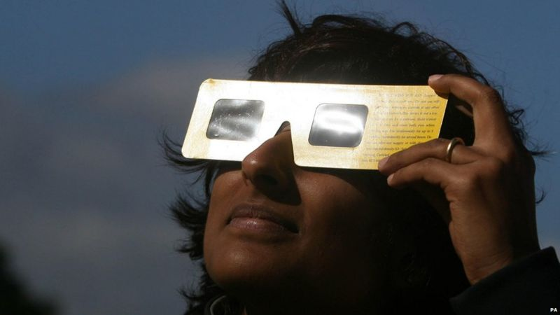 How to view the Partial Eclipse
